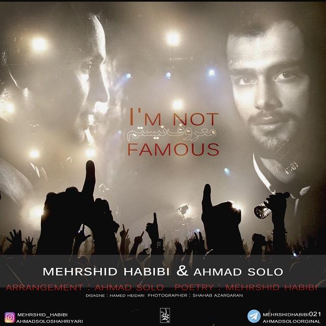 Ahmad Solo – Maroof Nistam (Ft Mehrshid Habibi)