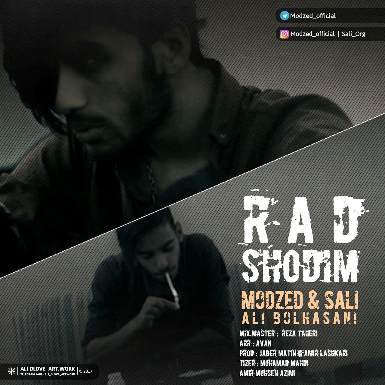 Modzed – Rad Shodam (Ft Sali And Ali Bolhasani)