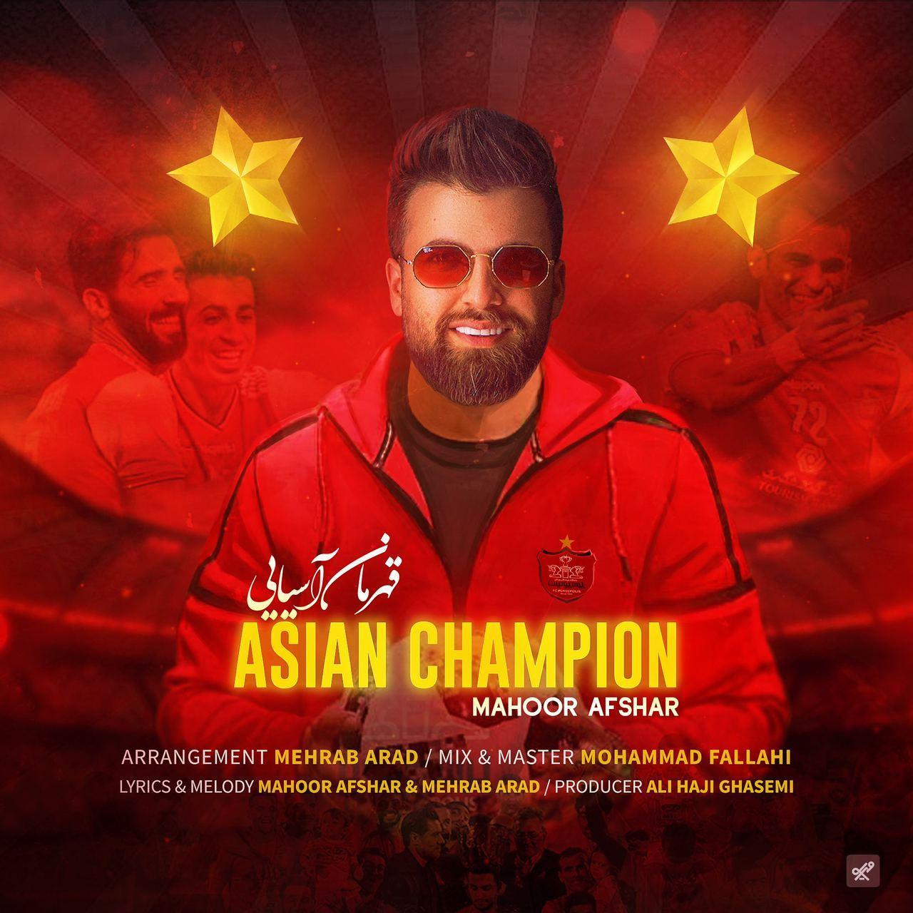 Mahoor Afshar – Asian Champion