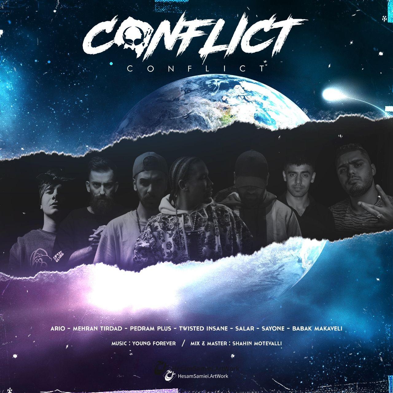 Mehran Tirdad – Conflict Ft Twisted Insane Amp Pedram Plus Amp Aalar